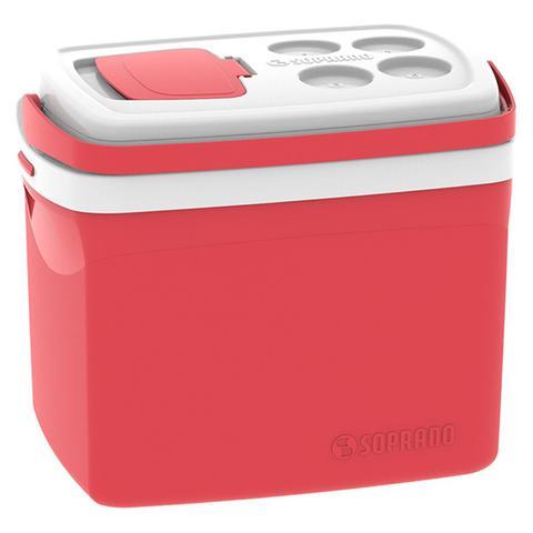 Imagem de Caixa Térmica Tropical Vermelha 32 Litros Soprano