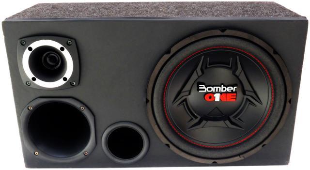 Imagem de Caixa Trio Completa Bomber One 12 Pol + Driver + Tweeter