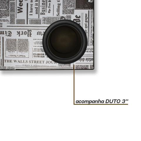 Imagem de Caixa Vazia Dutada Som 12 Polegadas Duto 3 Pol Mdf 38 Litros