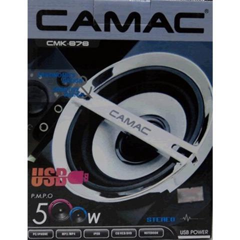 Imagem de Caixinha Caixa De Som Pc Cmk-878 500w P2 Usb  Camac
