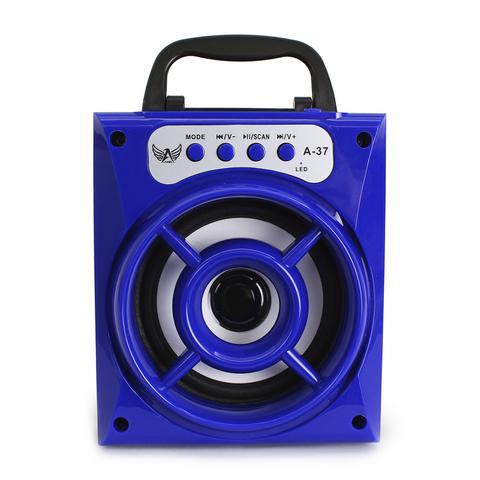 Imagem de Caixinha De Som Bluetooth Usb Pendrive Radio 8w Altomex A-37