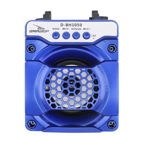 Caixa de Som Grasep Azul D-bh1050