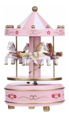 Imagem de Caixinha Musica Infantil Carrossel Musical Decorativo Quarto Ambientes Criança