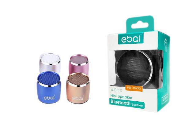 Imagem de Caixinha Som Bluetooth Ebai FZF19YX3 Mini Speaker 1w Portátil