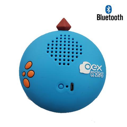 Imagem de Caixinha som infantil bluetooth oex dino sk301