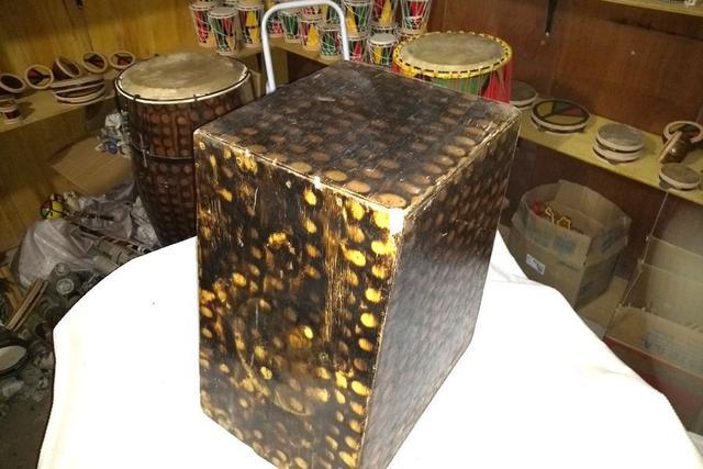 Imagem de Cajón de Madeira acústico