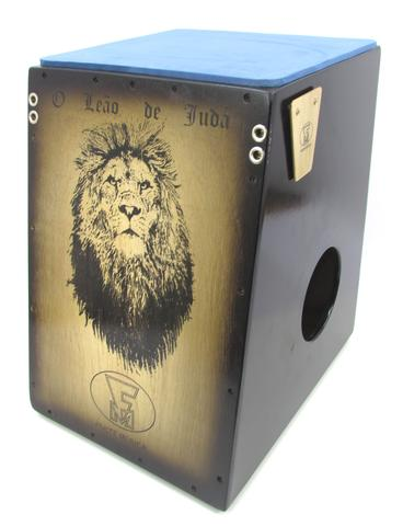 Imagem de Cajon elétrico duplo som fm prof. leão de judah