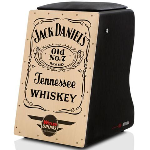 Imagem de Cajón Elétrico Inclinado  Kit De Acessórios - Jack Daniels