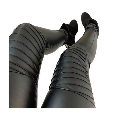 Imagem de Calça Cirrê Legging Escama Cintura Alta Hot Pant - Mica