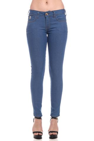 Imagem de Calça Jeans Coca-Cola Low Skinny Cintura Baixa 23202582