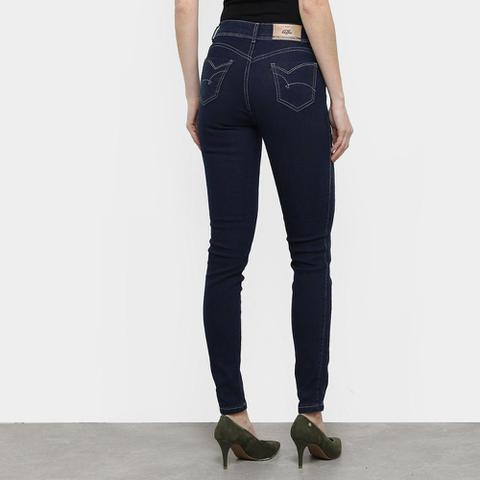 Imagem de Calça Jeans Coffee Skinny Escura Feminina