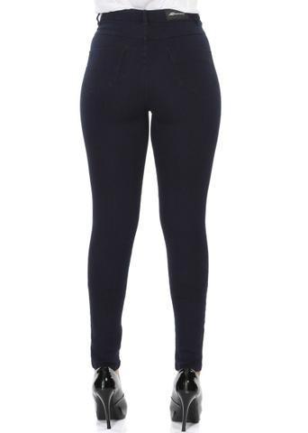 Imagem de Calça Jeans Feminina Sawary Super Lipo Cintura Alta Com Cinta Modeladora Interna