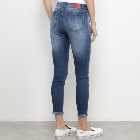 Imagem de Calça Jeans Skinny Disparate Destroyed Respingos Feminina
