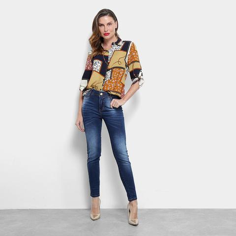 Imagem de Calça Jeans Skinny Jezzian Jeans Feminina