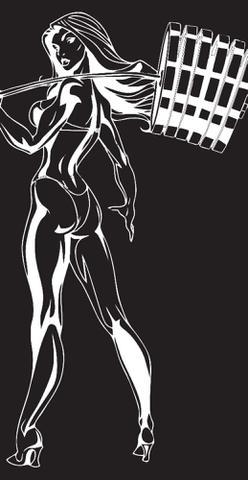 Imagem de Calça  legging  bat  girls  feminina  tamanho  p