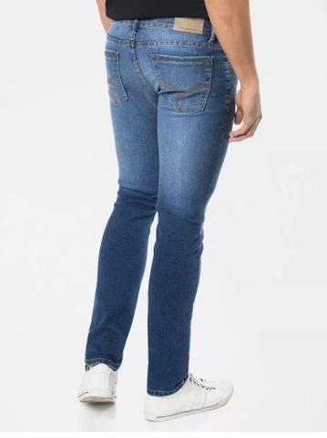 9cb1c93037bedd Calça Masculina Calvin Klein Jeans Skinny Five Pockets Azul