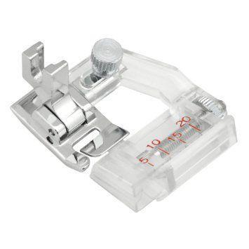 Imagem de Calcadores para viés e bainha - kit com 7 - Para todas as máquinas domésticas