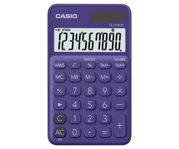 Imagem de Calculadora Casio De Bolso SL-310UC-PL   Violeta