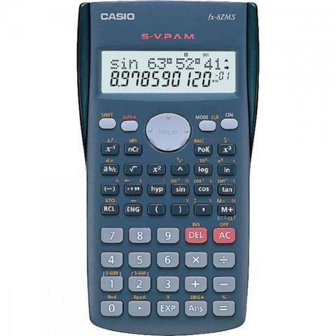 Imagem de Calculadora Científica 240 Funções FX-82MS-SC4-DH CASIO
