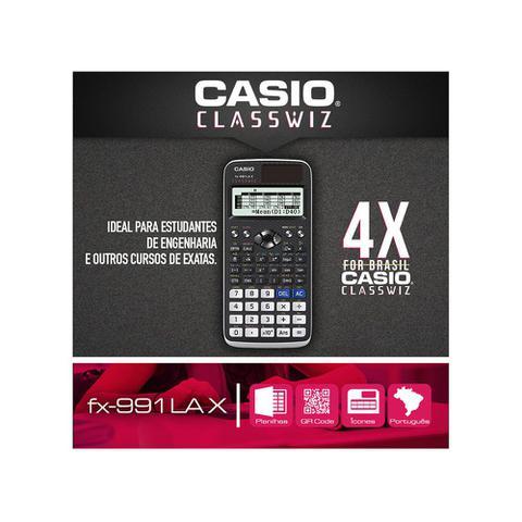 Imagem de Calculadora científica Casio Classwiz FX-991LAX ideal para estudantes de engenharia