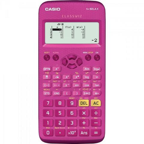 Imagem de Calculadora Científica FX82LAX Rosa CASIO