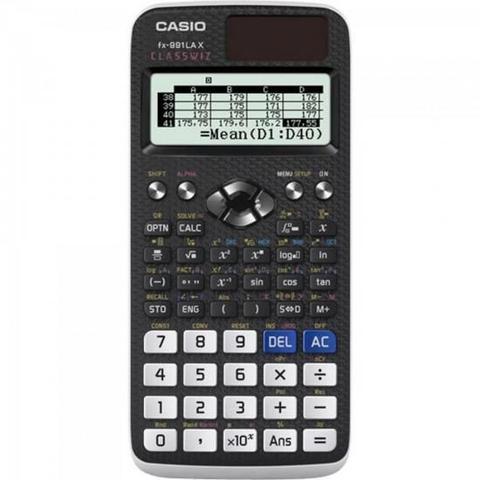 Imagem de Calculadora Cientifica FX991LAX Preto Casio