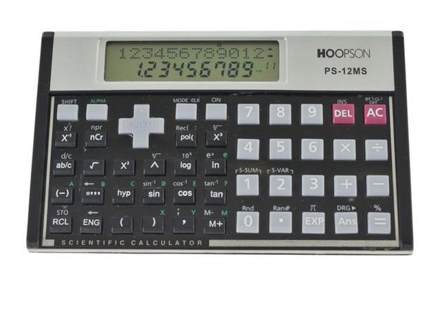 Imagem de Calculadora Científica PS-12MS Hoopson