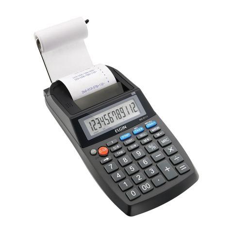 Imagem de Calculadora compacta com bobina 12 dígitos ma-5111