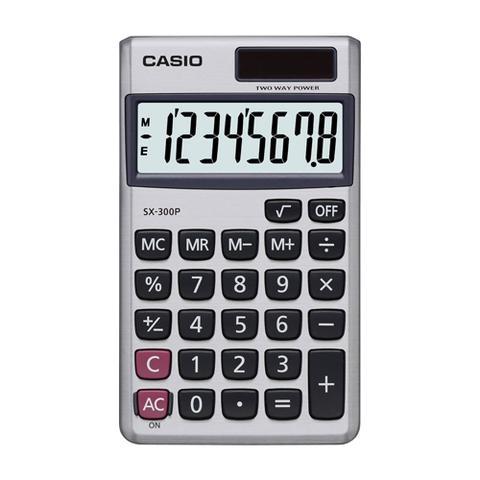 Imagem de Calculadora De Bolso 8 Digitos Sx300 Prata Casio