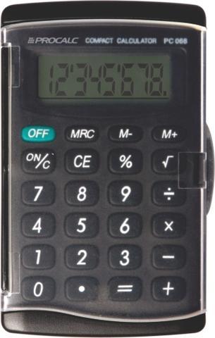 Imagem de Calculadora de Bolso Procalc - PC068