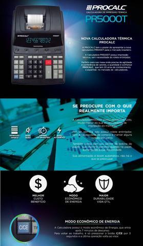 Imagem de Calculadora de Impressão Térmica Procalc PR5000T Bivolt