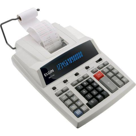 Imagem de Calculadora de Mesa MB7142  - Elgin