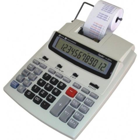 Imagem de Calculadora de mesa menno copiatic cic 201 ts com impressora