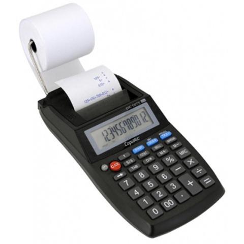 Imagem de Calculadora de mesa menno copiatic cic 50 ts com impressora