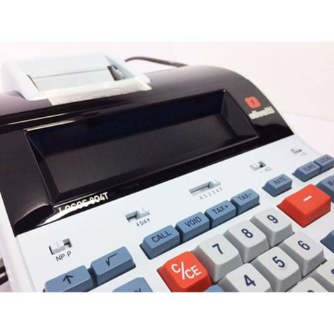 Imagem de Calculadora de Mesa Olivetti LOGOS 804T Térmica de 14 Dígitos Bivolt