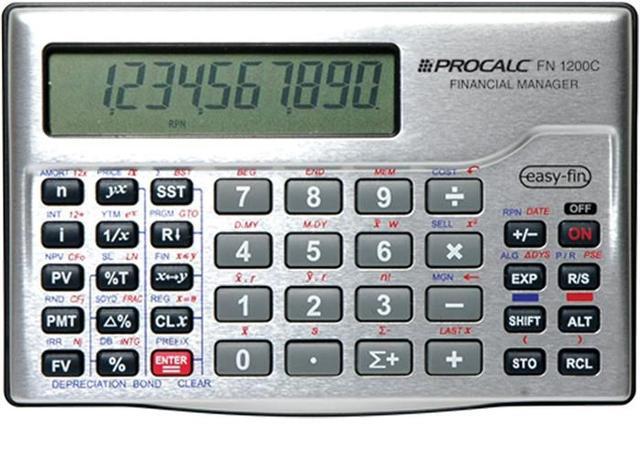 Imagem de Calculadora Financeira Fn1200c Procalc