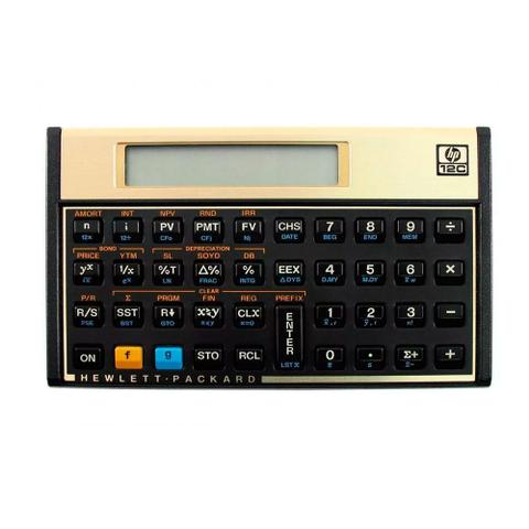 Imagem de Calculadora Financeira Hp 12c Gold Original