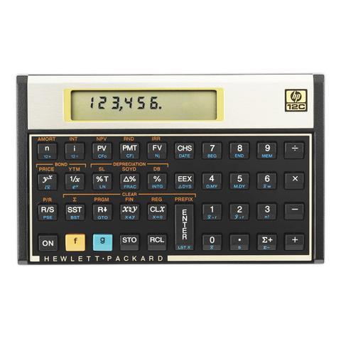 Imagem de Calculadora Financeira Hp 12c Gold