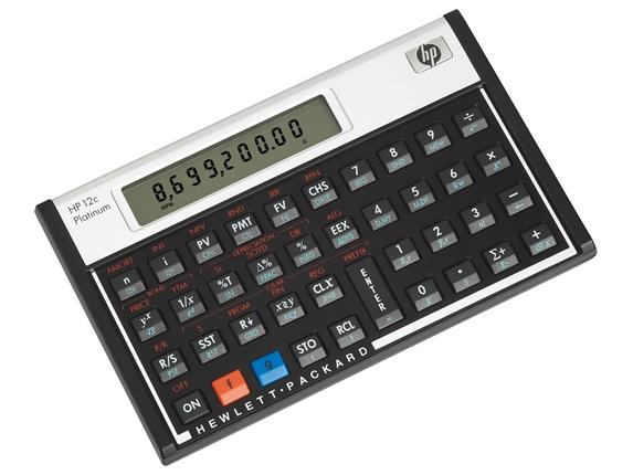 Imagem de Calculadora Hp 12C  Financeira Platinum 130 Funções