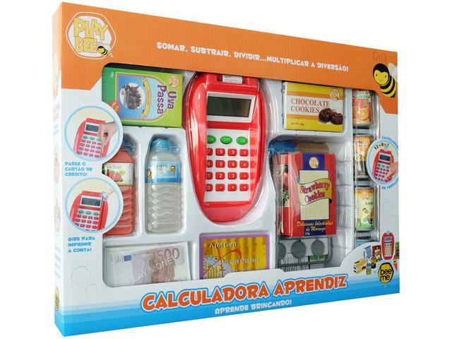 Imagem de Calculadora Infantil Aprendiz Play Bee