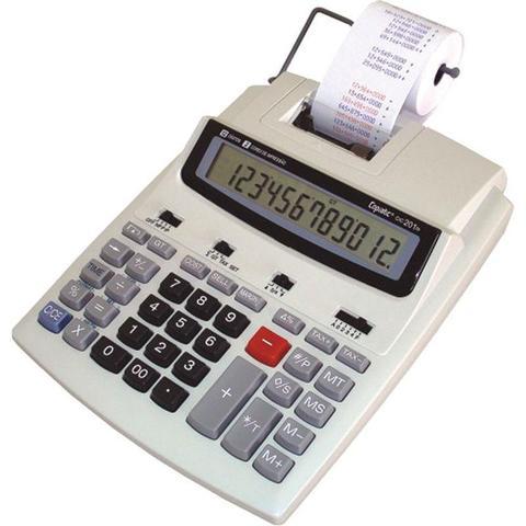 Imagem de Calculadora Mesa Menno Bobina Impressão 12dig CIC 201 TS