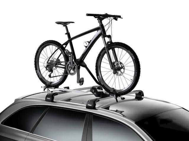 Imagem de Calha suporte teto thule proride 598 suporte p/ 1 bicicleta