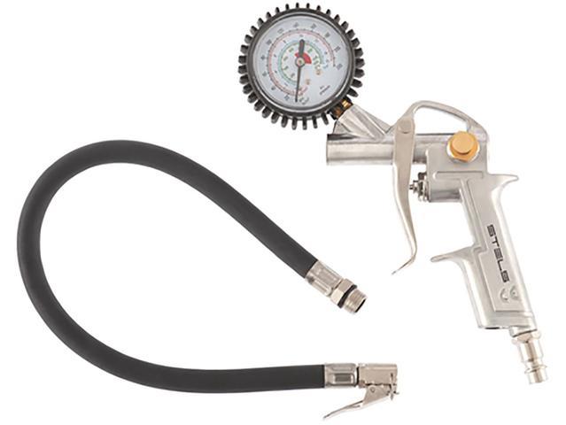 Imagem de Calibrador de Pneus Portátil com Manômetro
