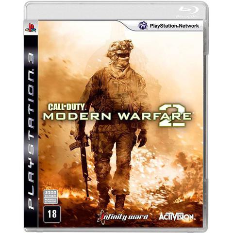 Jogo Call Of Duty: Modern Warfare 2 - Playstation 3 - Activision