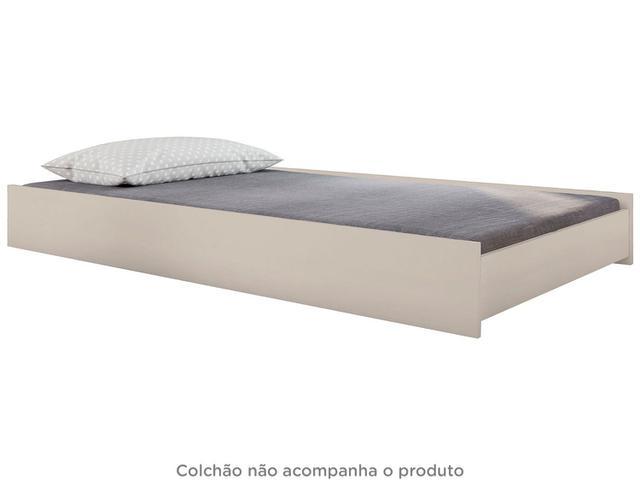 Imagem de Cama Auxiliar Solteiro 88x188cm Móveis Estrela