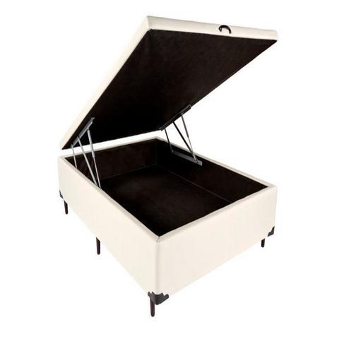 Imagem de Cama Box Bau Casal 138 X 188  Suede