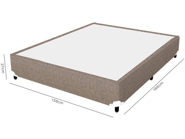 Imagem de Cama Box (Box + Colchão) Casal Molas
