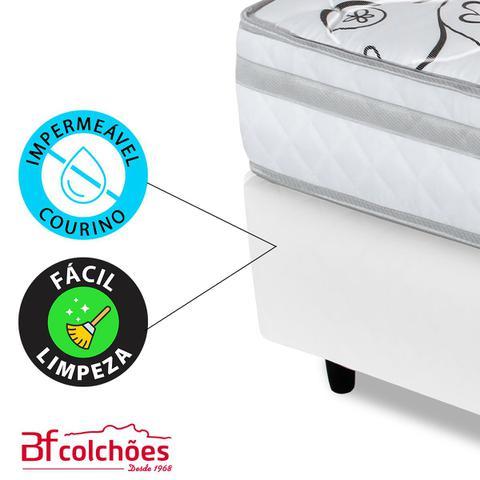 Imagem de Cama Box Casal (Box +Colchão) Ortopédico Extra Firme Certificado 138x188x58cm BF Colchões