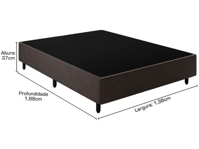 Imagem de Cama Box Casal (Box + Colchão) Plumatex Mola