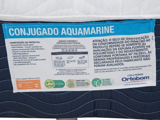 Imagem de Cama Box Casal Ortobom Conjugado 53cm de Altura